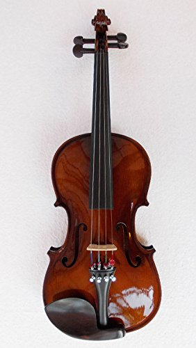 SG Musical Best Sound 4/4 violin, Hard CarryBox, Bow and Rosin (Natural)