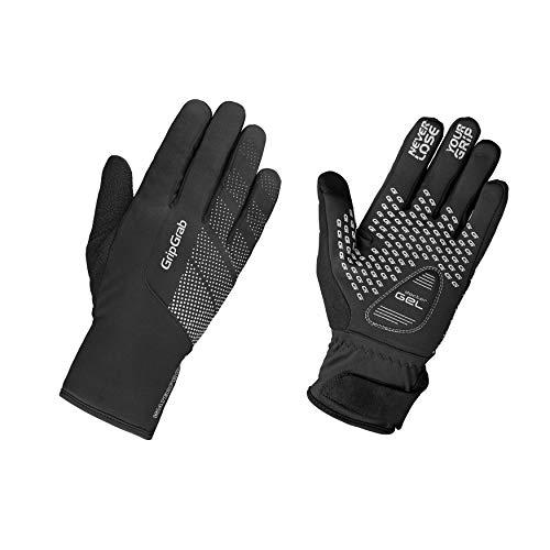 GripGrab Unisex– Erwachsene Ride Wasserdichter Winter Handschuhe Radsport, Herren und Damen Fahrrad, Schwarz, L
