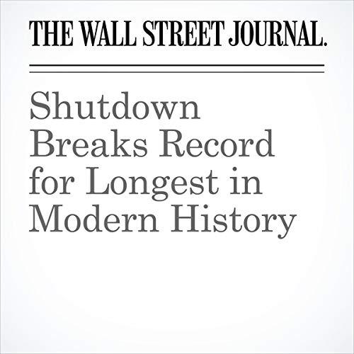 Shutdown Breaks Record for Longest in Modern History audiobook cover art