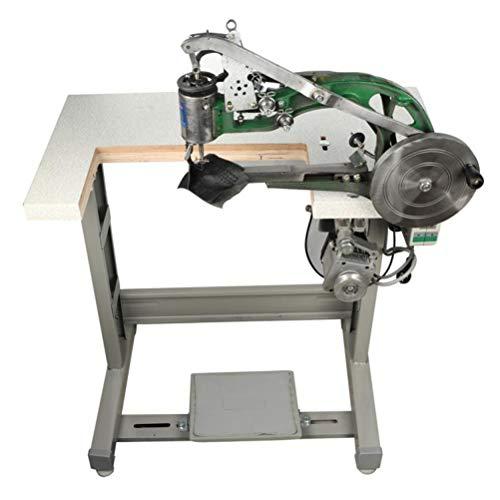 SHIEM 8 roulements Machine à Coudre Manuelle électrique à à Vitesse réglable, utilisée pour Coudre des Chaussures, des Sacs en Cuir, du Tissu, des Pantalons B