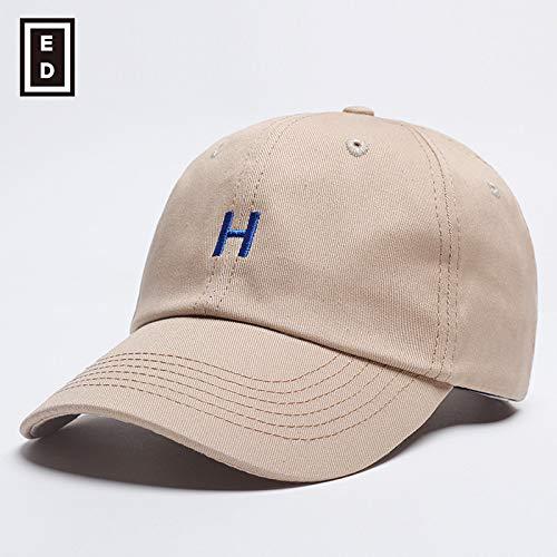 sdssup Sommer Baseballmütze Männer und Frauen Paar Hut Mütze Khaki einstellbar