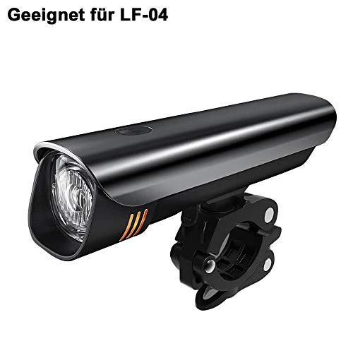toptrek Universal Fahrradlicht Halterung Fahrradbeleuchtung Halter Geeignet für LF-04/LF-05/LF-08/LF-10 (Ersatz) - 3