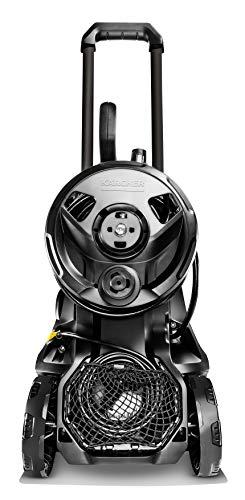 Kärcher Hochdruckreiniger K 4 Premium Full Control Home (Druck: 20-130 bar, Fördermenge: 420 l/h, Schlauchtrommel, Flächenreiniger T 350, Reinigungsmittel, 2x Strahlrohr, Power Pistole) - 7