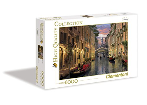 Clementoni Puzzle 36517 - Venice -  6000 Pezzi High Quality Collection