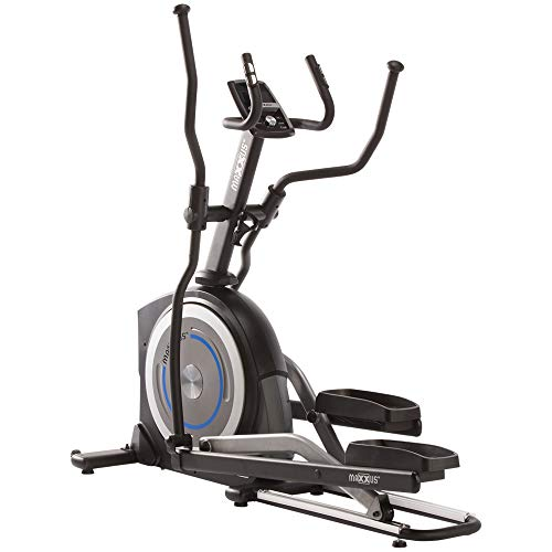 Crosstrainer MAXXUS CX 5.1 - Ellipsentrainer in Studioqualität, Bluetooth APP-Steuerung, 24 KG Schwungmasse, gelenkschonende Laufbewegung, 54cm Schrittlänge
