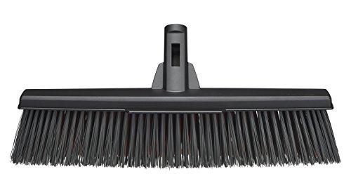 Fiskars Allzweckbesen-Kopf mit Powerclean-Borsten, Breite: 47 cm, L, Kunststoff, Schwarz, Solid, 1025931