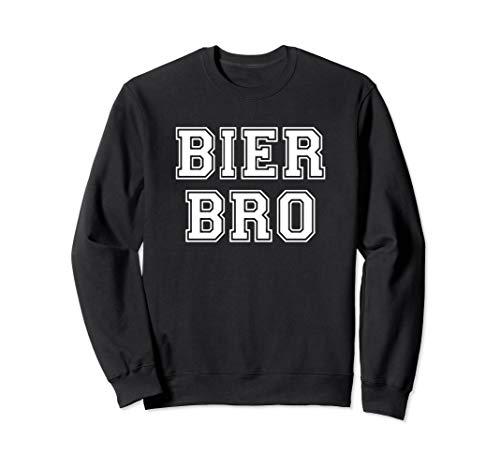 Bier Bro Dude Oktoberfest Design - Lustiges Bier Geschenk Sweatshirt