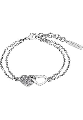 JETTE Damen-Armband 925er Silber rhodiniert 33 Zirkonia One Size 87369072