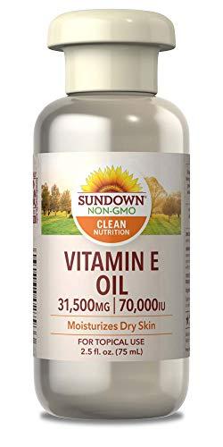 Sundown - Pure Vitamine E Huile, 70 000 Ui De Peau - 2,5 Oz