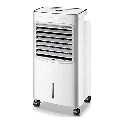 Jieer Enfriador de Aire, Mini Air Cooler Portátil Ventiladores de Aire Acondicionado, Humidificador con Tres Velocidades Diferentes Control Remoto Sin Ruido Bajo Consumo de Energía, Dormitorio Sala de