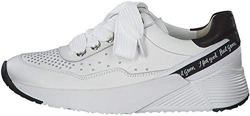 Paul Green 4761 Damen Sneakers Weiß, EU 39