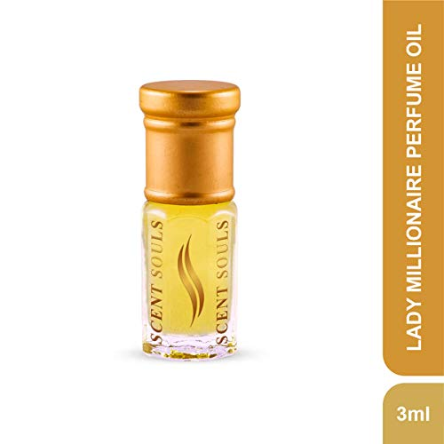 Scent Souls Lady Millionaire Long Lasting Attar Fragrance Perfume Oil For Women- 3 ml