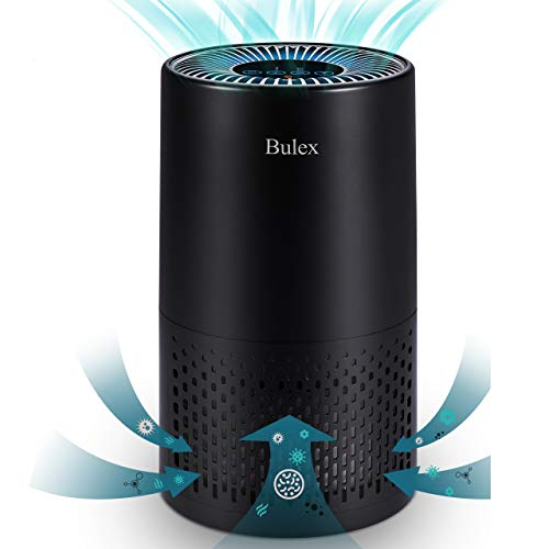 Bulex Air Purifier for Home Up to 404ft², Air Purifier with H13 True HEPA Filter 99.97%, Removal of WildfireSmokeAllergiesPollen, 4-Stage Filtration for Large Room Bedroom Office