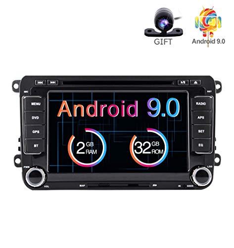 freeauto para VW 7 pulgadas Android 7.1 reproductor multimedia universal para automóvil Navegación GPS automática con WIFI Bluetooth Radio reproductor de coche Multimedia ...