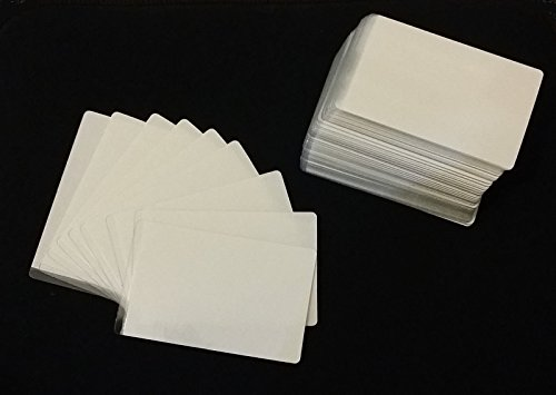 High Quality Cold Seal Laminating Pouches. Credit Card Size (54x86mm). 300 Microns. Made in UK (100)