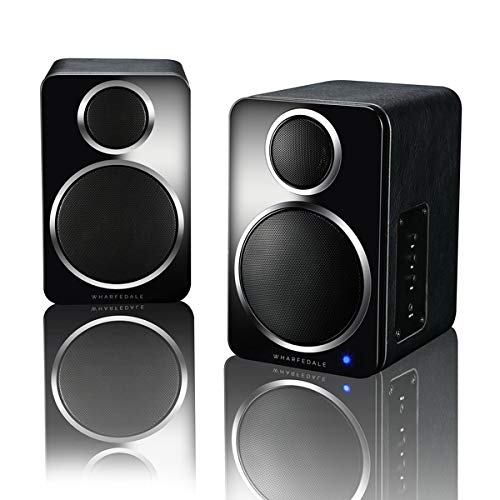 Wharfedale ds-2 Bluetooth Speaker hi-fi Sound in miniaturised Form,Aptx, Wireless Bookshelf Speaker, Portable Speaker