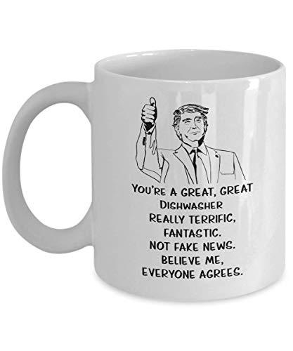 N\A Lustiges Geschenk für Geschirrspüler, Sie sind große Geschirrspüler Tasse