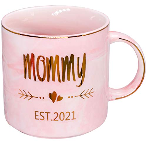Mugpie New Mom Gifts Mug - Mom To Be/First Time New Mom Gifts for...