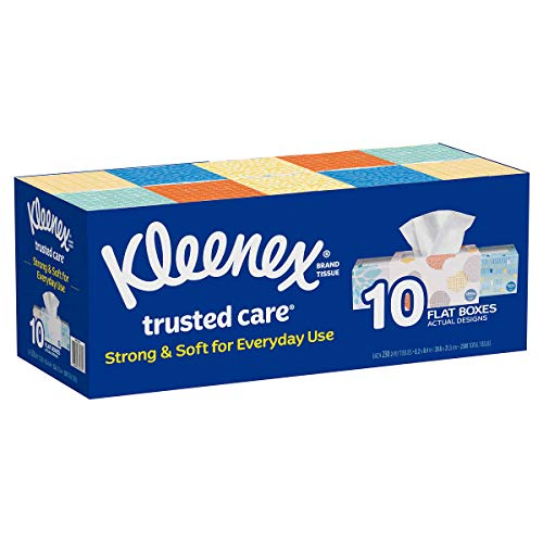 Kleenex 2Ply White Facial Tissue230 Count Pack of 10