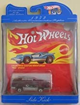 Hot Wheels 30th Anniversary 1972 Authentic Commemorative Replica Side Kick -California Custom Miniatures with mag wheels limited edition 1:64 Scale