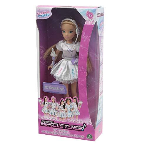 Giochi Preziosi Miracle Tunes Fashion Doll Emily, Vestizione White Transformation