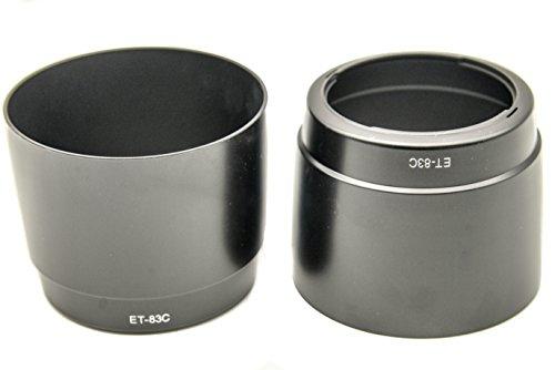 PROtastic ET-83C zonnekap voor Canon EF 100-400 mm f/4,5-5,6 L IS lens, 2 stuks