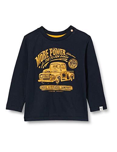 Noppies Jungen B Regular ls Monsey T-Shirt, Dark Sapphire-P208, 110