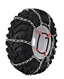Grizzlar GTU-403 Garden Tractor 4 Link Ladder Alloy Tire Chains Tensioner Included 16x5.50-8, 16x6.50-8