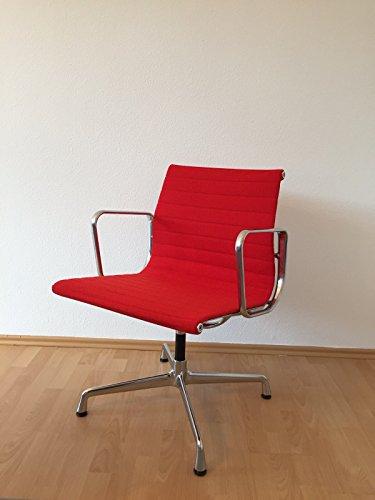 Vitra Alu Group Chair EA108 / Charles und Ray Eames Besucherstuhl/Designklassiker von Klingenberg