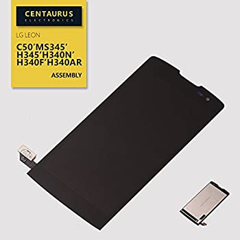 CENTAURUS LCD Display Touch Screen Digitizer Replacement for L-G Sunset LTE L33 L33L Tribute 2 LS665 Boost Mobile Leon H345 H340 H343 Risio C50 MS345 Power L22C L22CC Assembly