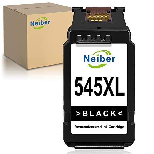 Neiber 545XL Cartuchos de Tinta Compatible para Canon PG545XL para Canon Pixma TS3150 3151 205 305 MG2555S 3050 2550 2550S MX495 TR4550 Ip2850(1xNegro)