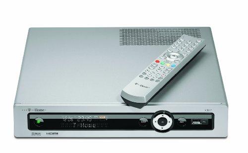 T-Home X 301 T Receiver mit 160 GB Festplatte (HDMI, 2X USB 2.0) Silber