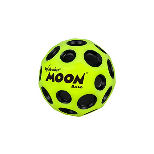 Moon Space Bouncy Ball Extreme High Bounce Light Catch Fast Spin Throwing Craze