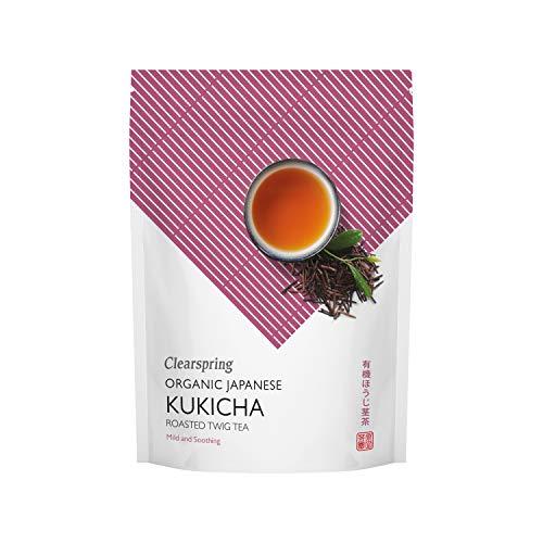 Clearspring - Organic Japanese Roasted Twig Tea Kukicha - Loose Tea - 125g