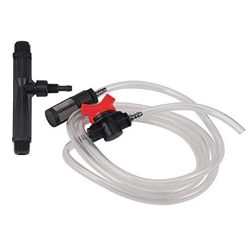 Rollu 1/2 Dispositivo de Riego de Jardín Interruptor de Inyector Fertilizante Venturi Kit de Tubo de Agua