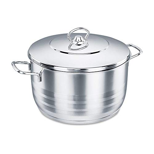 korkmaz Stockpot with Lid (4qt)