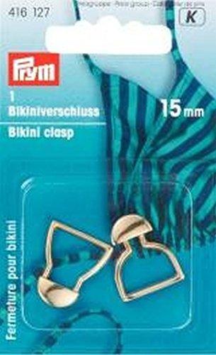 Prym Cierre par Bikini Metal 15 mm Color Plata