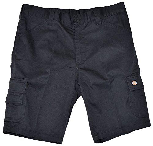 Dickies ED24/7 Shorts 2 Schenkeltaschen Kurze Hose (48, schwarz/schwarz)