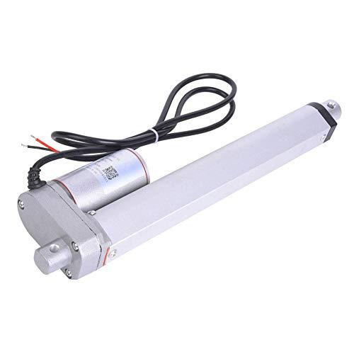 JS-TGZ-U1電動リニアアクチュエータ DCモーター 300N 12VDC IP45 25W 電気ベッド、電気ソファ、電気スタンド昇降ロッド、産業用電気昇降システム、カメラフレームに適用(ストローク200mm)