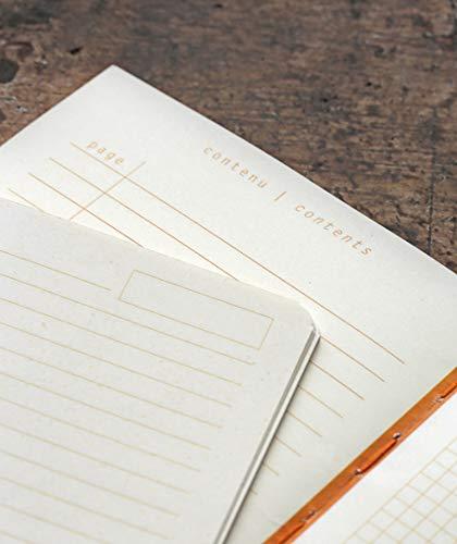 Rhodia Heritage Raw Binding Notebook, 190x250mm, Square ruling - Black Escher Photo #4