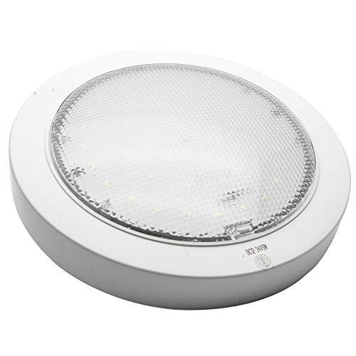 xinxiu LED-Deckenleuchte, 12 V, für Wohnmobil, Wohnwagen, Wohnmobil, Wohnmobil, Boot, Dachlicht, An-/Ausschalter, weißes Licht
