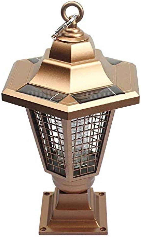 DYR Beleuchtung, die Moskito-solarbetriebene Stiftlampe Moskito-Mrder-Licht-Hof-Rasen-Licht-Solarlicht drauen abweist