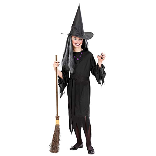 Widmann ? Costume de Halloween Sorcière pour fille, taille 8 ? 10 ans