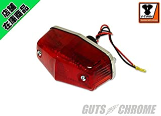 V-Twin 33-0302 - Chrome Tail Lamp Small Lucas Style