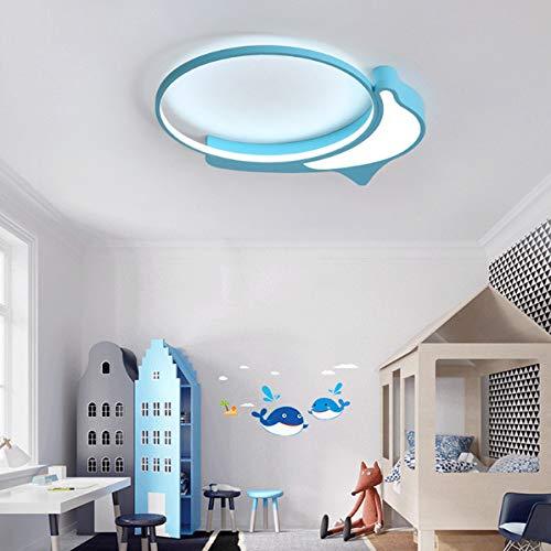 LED Deckenleuchte Schlafzimmer Kinderzimmer Lampe Kreative Persönlichkeit Junge Mädchen Zimmer Kinder Einfache Moderne Lampen Moderner Minimalist Mit Einem Durchmesser Von 50 Cm