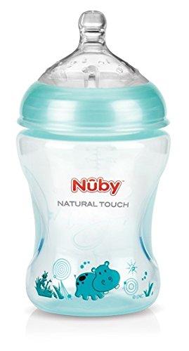 Nûby NT68028 - Biberón para 0 meses+, 240ml