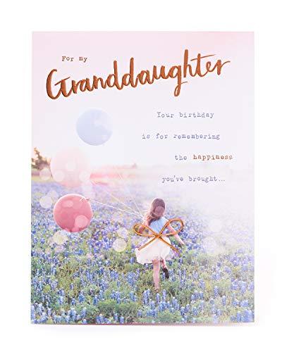 Verjaardagskaart voor Enkelin – Verjaardagskaart voor Enkelin – met mooie woorden – Fotografische verjaardagskaart met mooie Vers – Verjaardagscadeau voor Enkelin – cadeaukaart voor hem