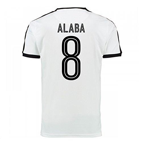 PUMA 2016-17 Austria Away Football Soccer T-Shirt Trikot (David Alaba 8)