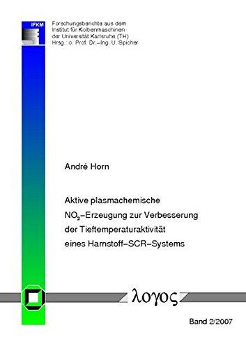 Aktive plasmachemische NO2-Erzeugung zur Verbesserung der Tieftemperaturaktivität eines Harnstoff-SCR-Systems (Forschungsberichte aus dem Institut für Kolbenmaschinen)