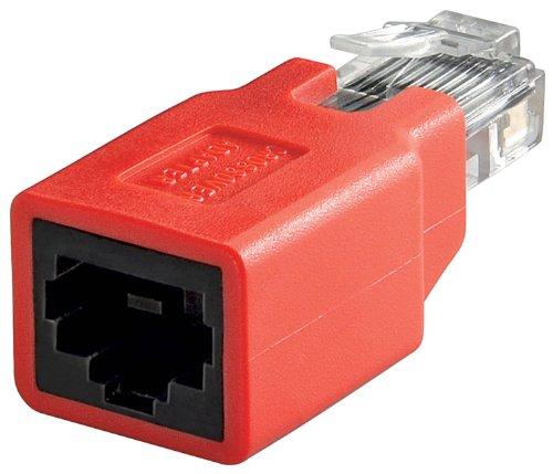 Unbekannt Wentronic - Cable de Red Cruzado (con Conector Macho Cat.5e RJ45 a Conector Hembra RJ45) 3 Stück